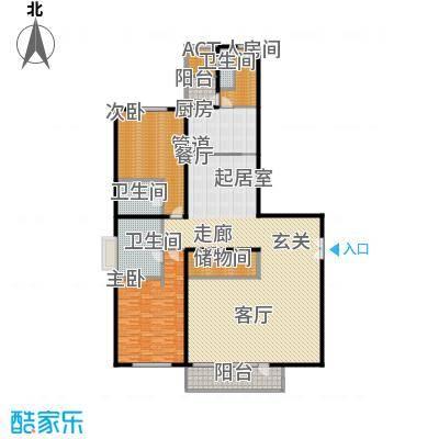 北京GOLF公寓258.00㎡面积25800m户型