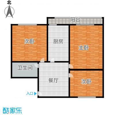 北京GOLF公寓254.00㎡面积25400m户型