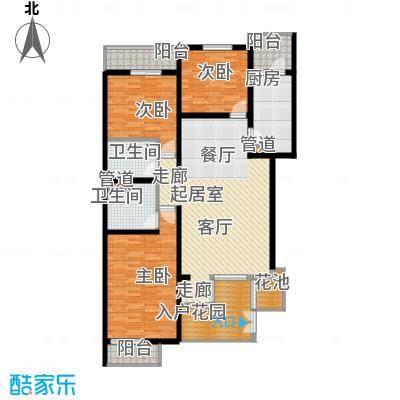 万科青青家园131.15㎡C2面积13115m户型