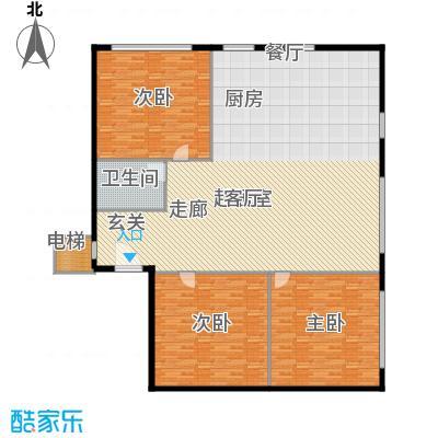 北京银泰中心户型