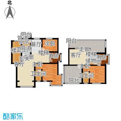 蓝调沙龙雅园203.01㎡B跃43面积20301m户型