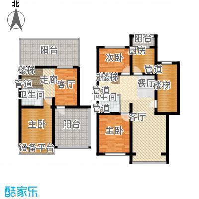 蓝调沙龙雅园150.86㎡D跃43面积15086m户型
