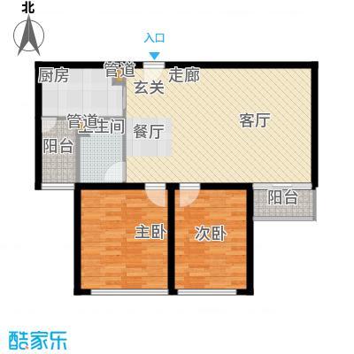 蓝调沙龙雅园99.60㎡F1面积9960m户型