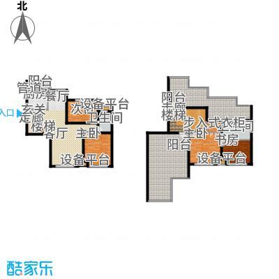 蓝调沙龙雅园172.10㎡G跃层面积17210m户型