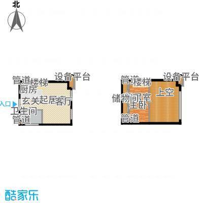 北京城建·N次方67.29㎡北京城建・N次方21#综合楼B3户型
