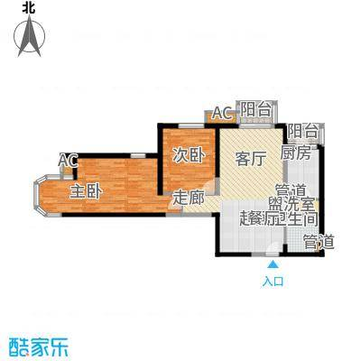 珠江峰景26号楼D/D反户型