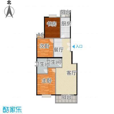 世涛天朗一期120.00㎡25号楼面积12000m户型