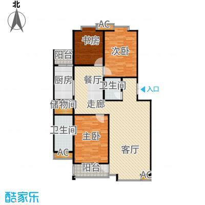 世涛天朗一期139.28㎡28、29号楼面积13928m户型