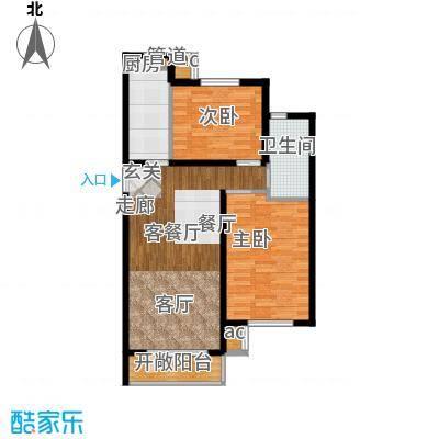 北京苏活93.39㎡C面积9339m户型