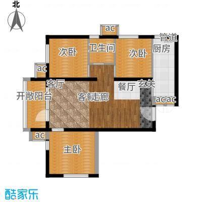 北京苏活95.19㎡A面积9519m户型