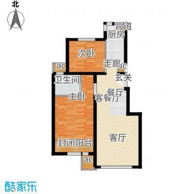 北京苏活90.56㎡G11面积9056m户型
