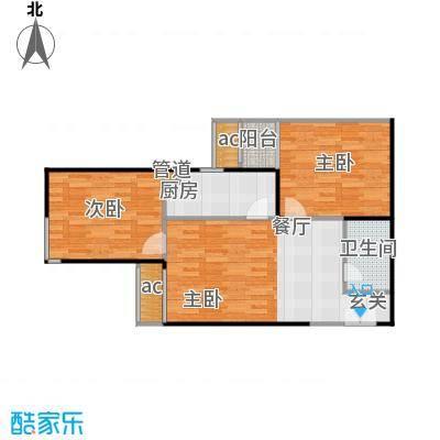 远见名苑二期8号楼D户型