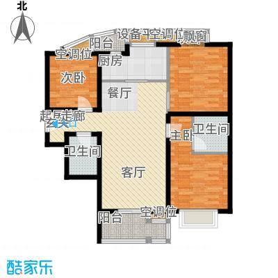 莱镇香格里113.40㎡10号楼A3面积11340m户型