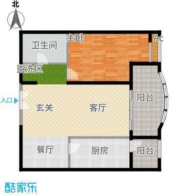 保利金泉4号楼2-02户型