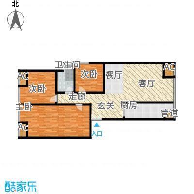 保利金泉4号楼2-01户型