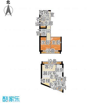 中弘北京像素51.00㎡B2面积5100m户型