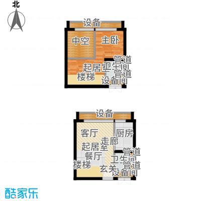 中弘北京像素C1a户型