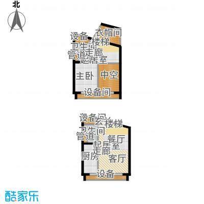 中弘北京像素F2户型