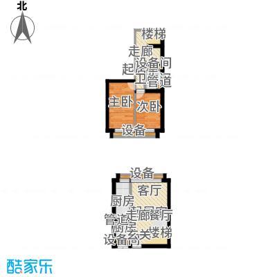 中弘北京像素55.00㎡a2面积5500m户型