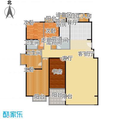 朱雀门294.64㎡11/12#楼A面积29464m户型