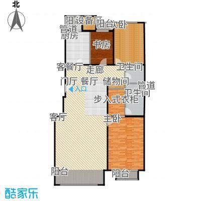 朱雀门187.15㎡28#楼T面积18715m户型