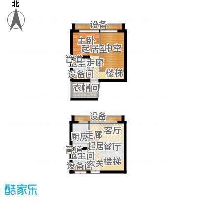 中弘北京像素e1户型