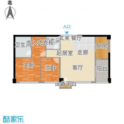 西钓鱼台嘉园122.70㎡二期五号楼面积12270m户型
