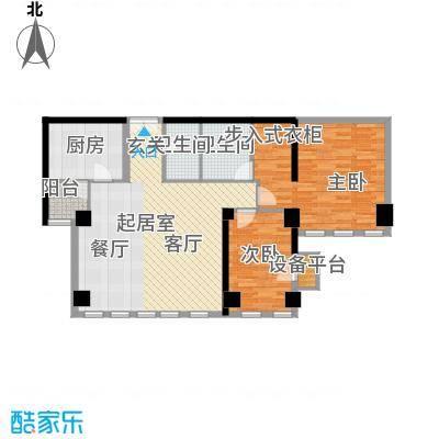 西钓鱼台嘉园127.68㎡三号楼1单元面积12768m户型