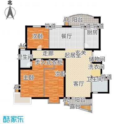北京太阳城175.00㎡三期P面积17500m户型