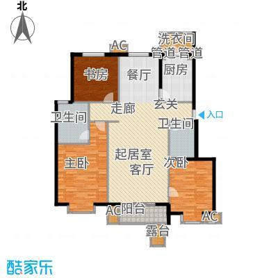 北京太阳城141.00㎡三期B33面积14100m户型