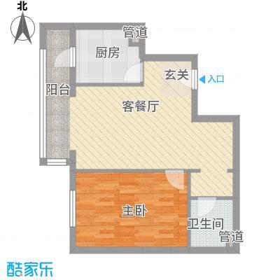 幸福家园10号楼1户型