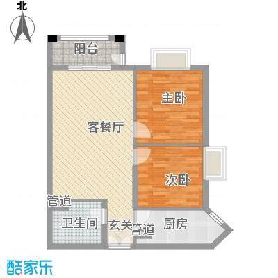 幸福家园88.74㎡21楼02面积8874m户型
