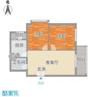 幸福家园15楼01户型