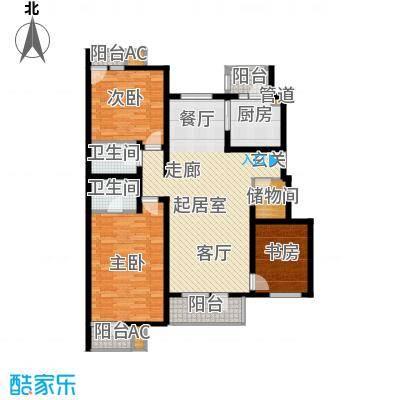 万科青青家园135.11㎡201、215号面积13511m户型