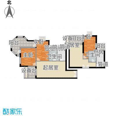 中润世纪广场123.00㎡户型