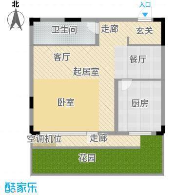 理想新城一期理想新城住宅-1户型