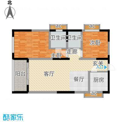 荣鼎・新苑80.73㎡-户型