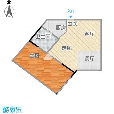 融汇新时代43.19㎡房型户型