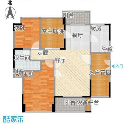 宏发美域11栋3单元-01户型