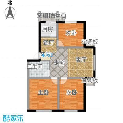 博雅馨园95.00㎡户型