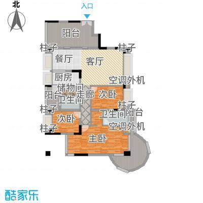 曲江南苑158.69㎡D型结构户型