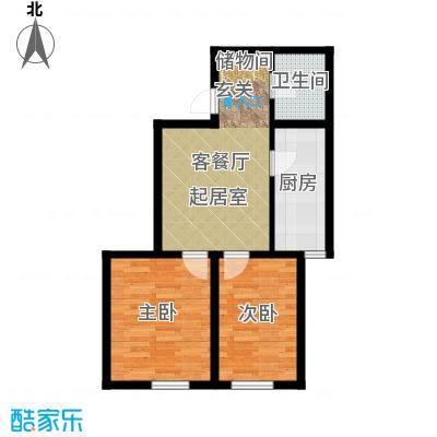 千缘爱在城64.96㎡公寓76户型