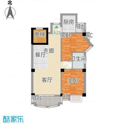 明发滨江新城82.00㎡8914m2户型