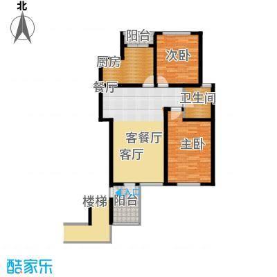 锦绣四合院91.00㎡最新户型