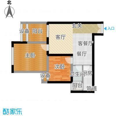 中润世纪广场56.00㎡户型