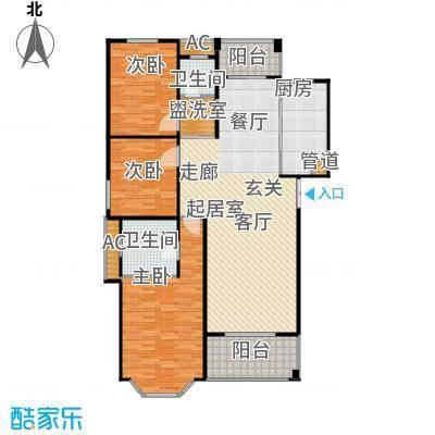 长房星城世家长房136.46㎡12套户型
