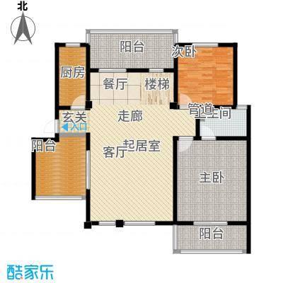 洪城比华利12、16#楼502底层户型