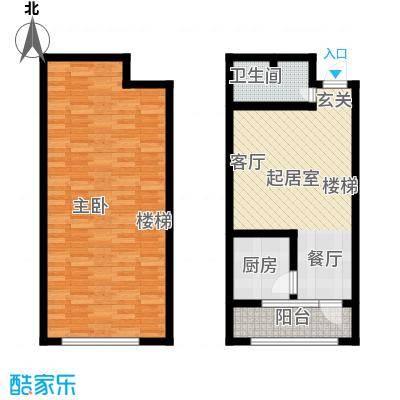 新华佰代宜居复式5299相当于户型