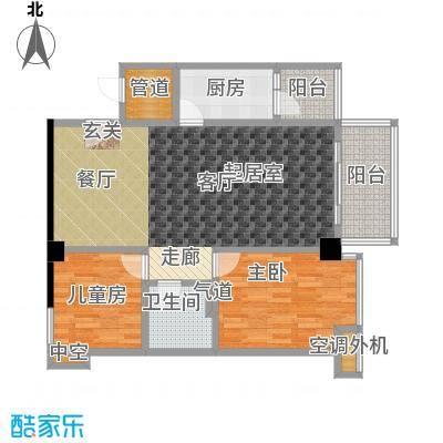 颐和雅轩99.00㎡北塔12层01单元户型