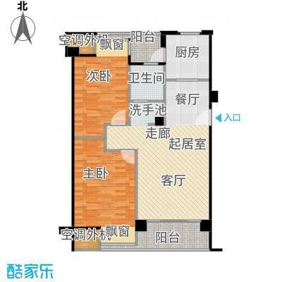 荣安琴湾J1户型